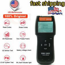 Automotive Diagnostic Tool OBD2 EOBD Scanner Check Engine Car Fault Code Reader