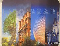 Disney PARKS COLLAGE RECTANGLE Mouse pad ~ Disney mousepad PARKS COLLAGE NEW