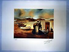 Salvador Dali Litografia 50 x 65 Bfk Rives Timbro a secco Firmata a Matita D182