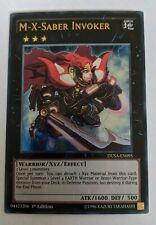 Yu-Gi-Oh DUSA-EN095 M-X-Saber Invoker Ultra Rare 1st Edition