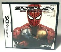 Spider-Man: Web of Shadows (Nintendo DS, 2008) BRAND NEW and SEALED