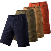 Mens Summer Work Pants Casual Cargo Shorts Army Military Combat Joggers Trousers