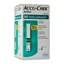 Accu Chek Active Glucose Blood (50 ) Test Strips