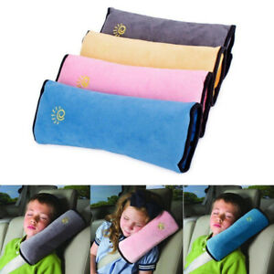 Kids Car Safety Strap Cover Harness Pillow Shoulder Seat Belt Pad Child Cushions