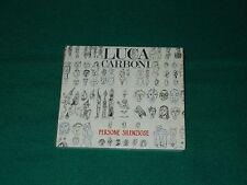 persone silenziose  Luca Carboni CD edizione 24 bit