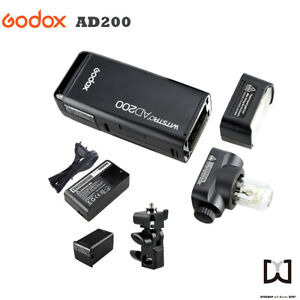 Godox AD200 Pocket Blitz Blitzlicht Flash Portable Mini TTL Speedlite