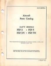 F6F Hellcat Aircraft Parts Catalog World War II book Flight Manual (CD version)