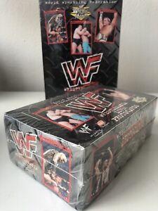 1999 Comic Images WWF Wrestlemania Live! photo cards Sealed Box and Album
