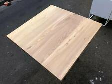 American Oak Timber Table Top Solid Wood - 800 x 800mm