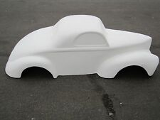 1941 Willys Coupe hot rod stroller pedal car go kart fiberglass body gasser NHRA