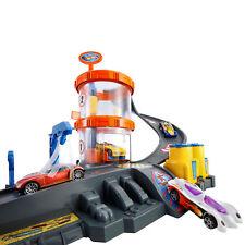 HOT WHEELS Car Wash Track Stunt Set Spielzeug Auto Waschanlage Rennbahn Connect