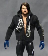"NOX-HD-AJ: Custom Logo Hoodie for 7"" Mattel WWE AJ Styles Figure (No Figure)"