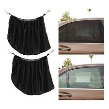2x KFZ Rückseitenfenster Sonnenschirm UV-schutz Sonnenblende groß schwarz LKW