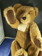"""Boyd'S Bear Plush """" Grenville"""" The Archive Collection Brown Posable Jointed"""