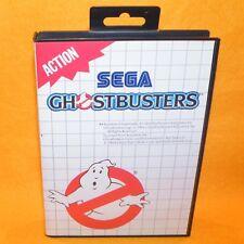 VINTAGE 1989 SEGA MASTER SYSTEM GHOSTBUSTERS CARTRIDGE VIDEO GAME PAL (ACTION)