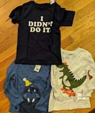 3T Boys Shirts- Lot Of Three (3) Carter's, The Children's Place, Catimini