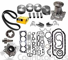 "88-92 Honda Isuzu 2.6L ""4ZE1"" 8-Valves SOHC NEW MASTER ENGINE REBUILD KIT"