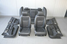 Jaguar XF Leder Sitze Innenausstattung Lederausstattung Schwarz Seats Seat