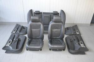 Jaguar XF Leather Seats Interior Leather Trim Black Seats Seat