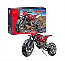 Motocross Y Free Style 2 En 1 Compatible Lego Nueva!!!