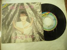 "MIKO MISSION@ HOW OLD ARE YOU- disco 45 giri BLOWUP italy 1984"" ITALO DISCO"