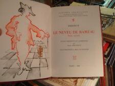 DIDEROT [illus. M. OTTHOFFER] Le neveu de Rameau Lettres Françaises 1982