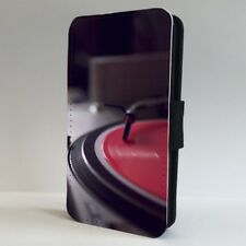 Vinyl DJ Turntable Music Records FLIP PHONE CASE COVER for IPHONE SAMSUNG