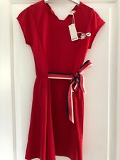 Lovely Catimini Red Dress Age 10 . Brand New