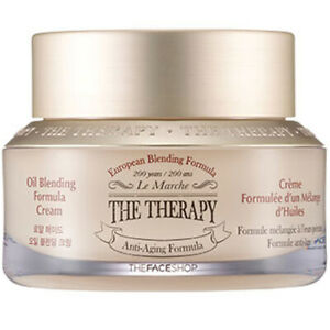 Korea Cosmetic [THE FACE SHOP]The Therapy Oil Blending Cream 1.69oz Wrinkle Care