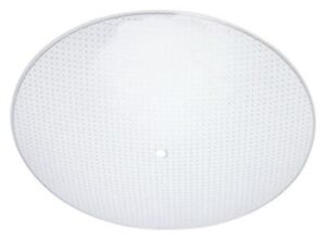 Westinghouse 8181900 - 13-Inch Clear Dot Pattern Glass Diffuser