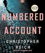 Numbered Account by Christopher Reich (2008, CD, Abridged)