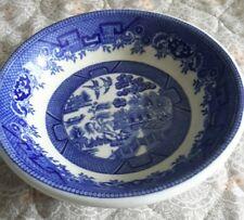"Vintage 1940'S Shenango China BLUE WILLOW Finger Bowl 5"" Dia. Creamer Dish Nice"