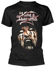 King Diamond 'Puppet Master Face' (Black) T-Shirt - NEW & OFFICIAL!