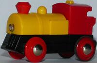 Wooden Railway BRIO Battery Powered Train Speedy Yellow 33225 Vintage RARE !!!