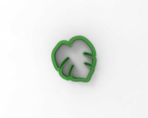 Monstera leaf (XS) Cookie and Fondant cutter 30221 ( Leaves cake decoration )