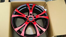Carmani Ca 9 7 5x17et45 Lk5x108 Red Polish