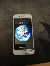Apple iPhone 6(Cracked Screen) 16GB - Gold (Verizon) A1549 in WORKING CONDITION