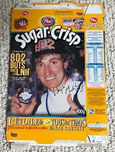 Wayne Gretzky Post Cereal Box
