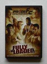 PRIDE FC FIGHTING CHAMPIONSHIPS FULLY LOADED PREMIERE MMA GRAND PRIX CONTEST