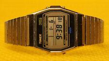Men's Retro TIMEX Digital Quartz Watch Stretch Band <VGU>