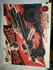 The Giga Horse Mad Max Fury Road Warrior Print Movie Poster Tom Whalen Mondo #35