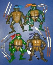 2002 *** SET OF ALL 4 TURTLES 4 *** TEENAGE MUTANT NINJA TURTLES TMNT