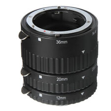 Auto Focus Macro Extension Tube Set 12 20 36 mm For Nikon Camera D850 D750 D810