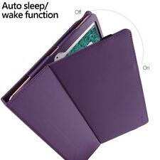 Case For Apple iPad Pro 10.5 Poetic【SlimFolio】Stylish PU Leather Case Purple