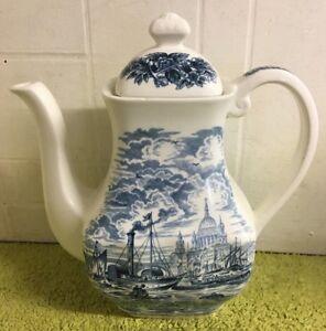 Rare Historical Ports Of England Teapot