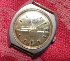 Gents Orion Calender Watch Head  Manual Wind Wristwatch  Spares Repair