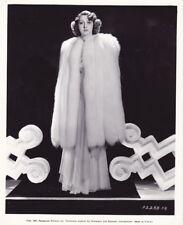 MARY LIVINGSTONE Beautiful Original Vintage '37 Paramount FASHION Portrait Photo
