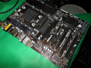 ASRock 970 Extreme3, AM3+, AMD Motherboard No I/O Shield For PARTS