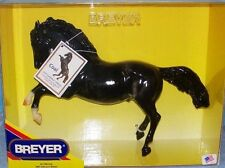 Breyer Model Horses Black Dapple Fighting Stallion Coal
