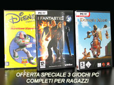 GIOCHI PC DISNEY CLASSICI ACTION GAME + I FANTASTICI 4 +DONKEY XOTE GIOCHI NEW